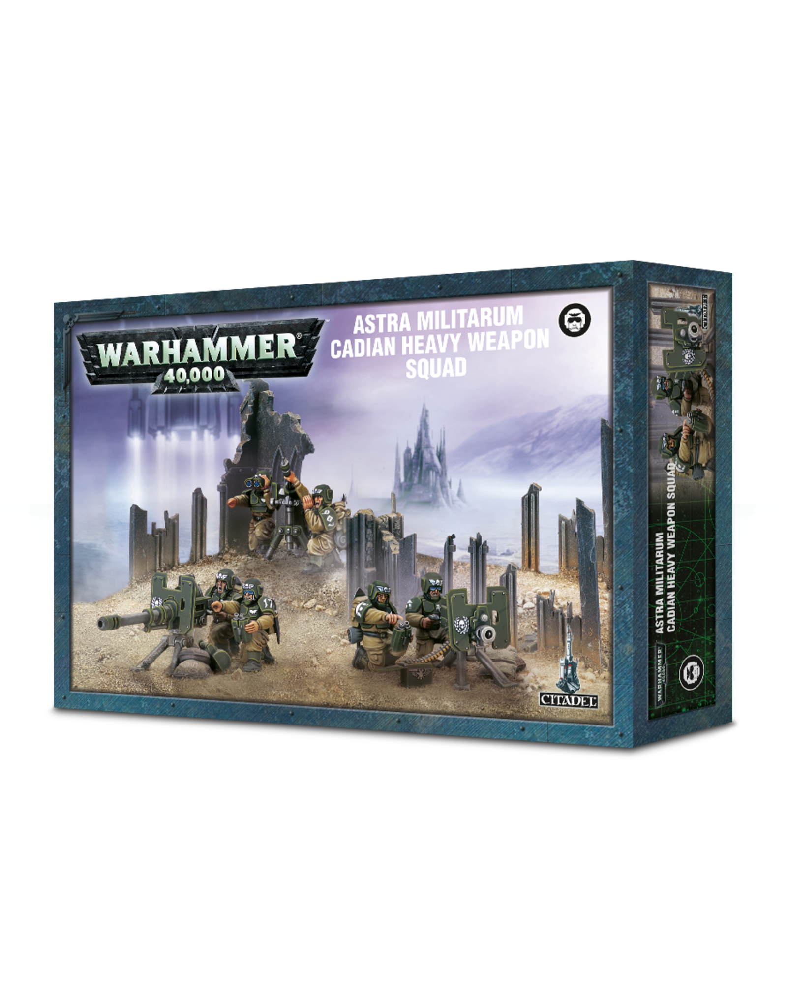 Games-Workshop Astra Militarium Cadian Heavy Weapons Squad