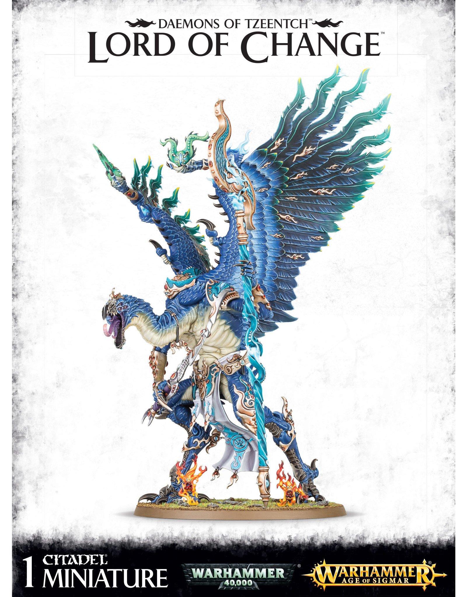 Games-Workshop Daemons of Tzeentch Lord of change