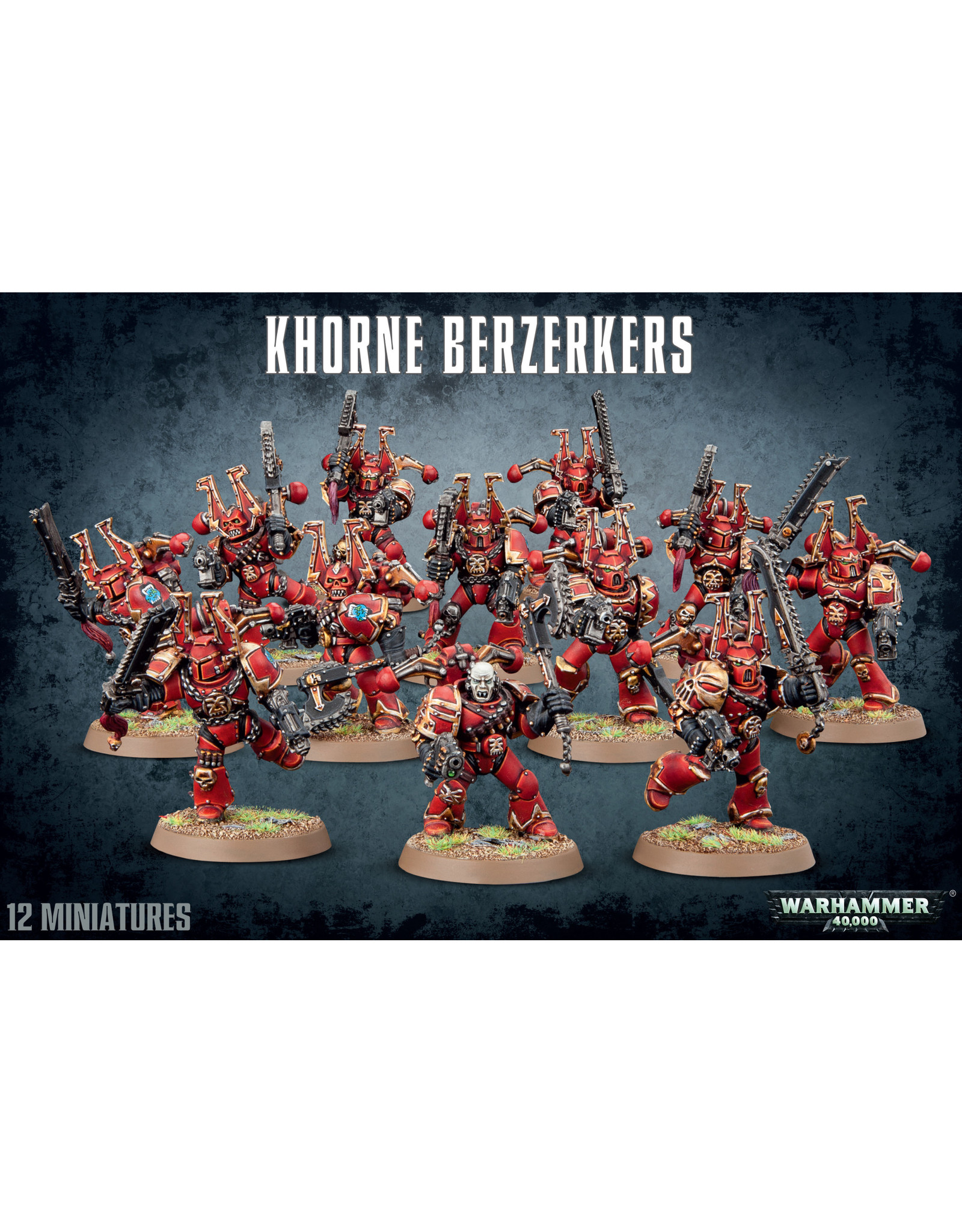 Games-Workshop Khorne Berzerkers