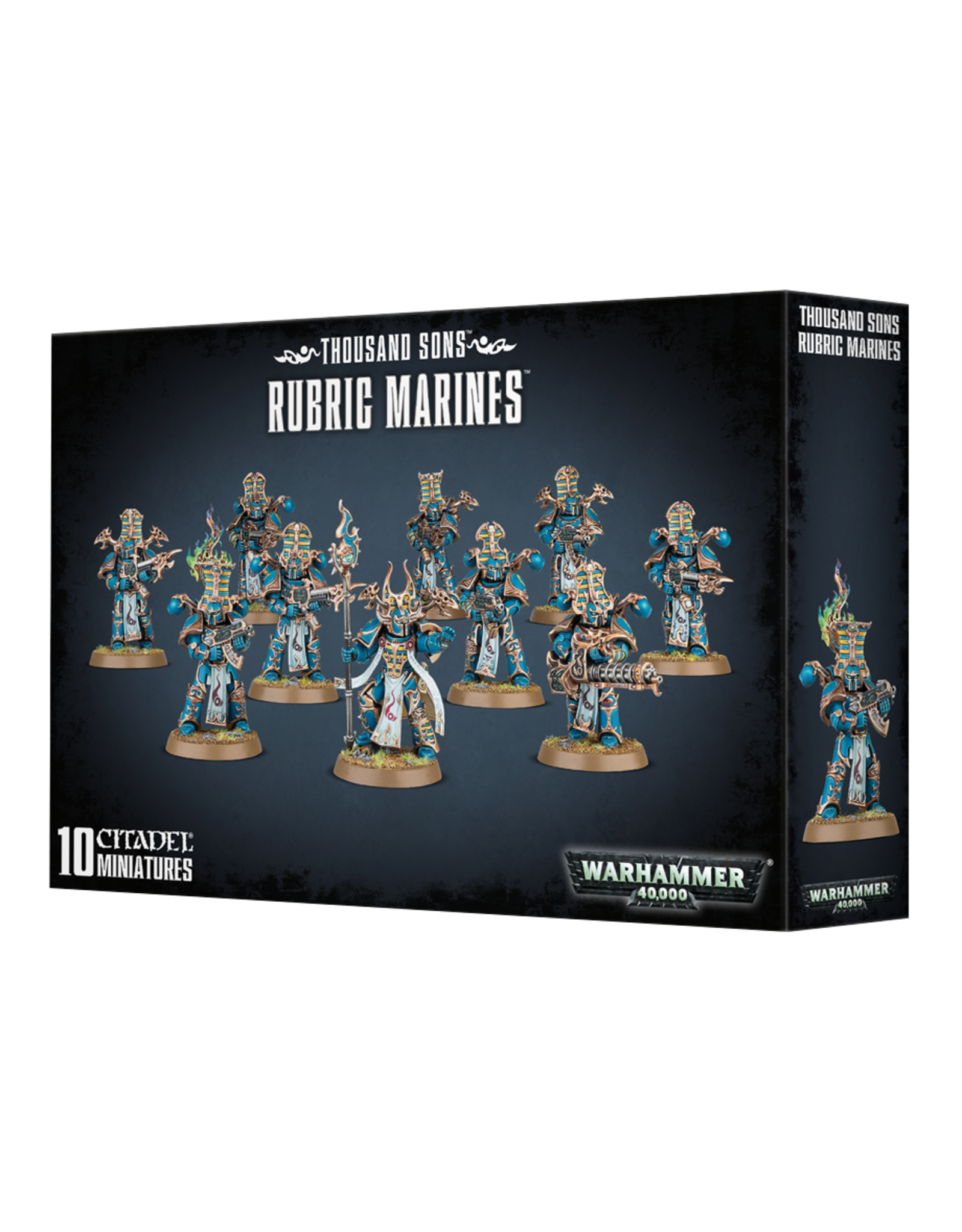 Games-Workshop Thousand Sons: Rubric Marines