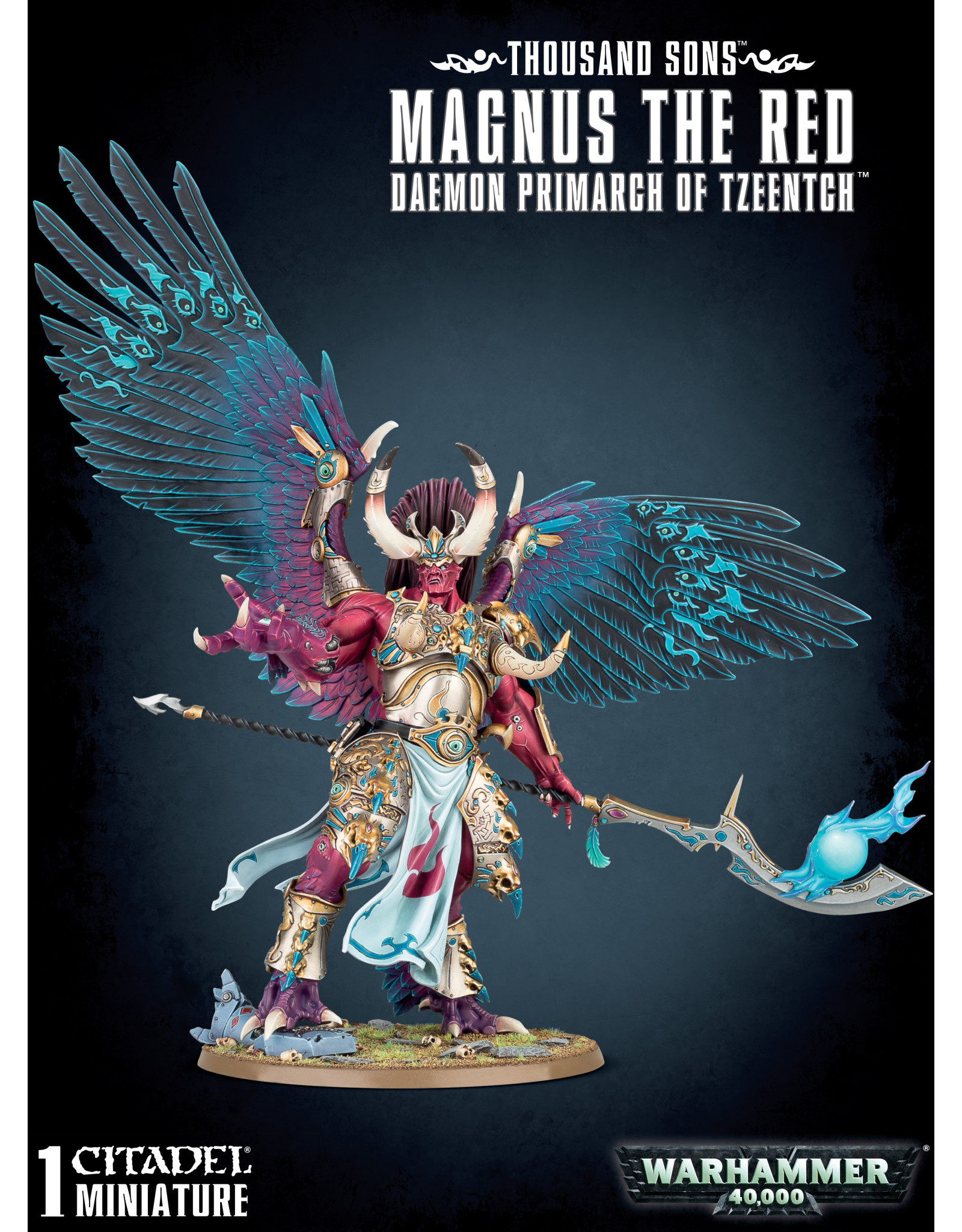 Games-Workshop Thousand Sons: Magnus the Red