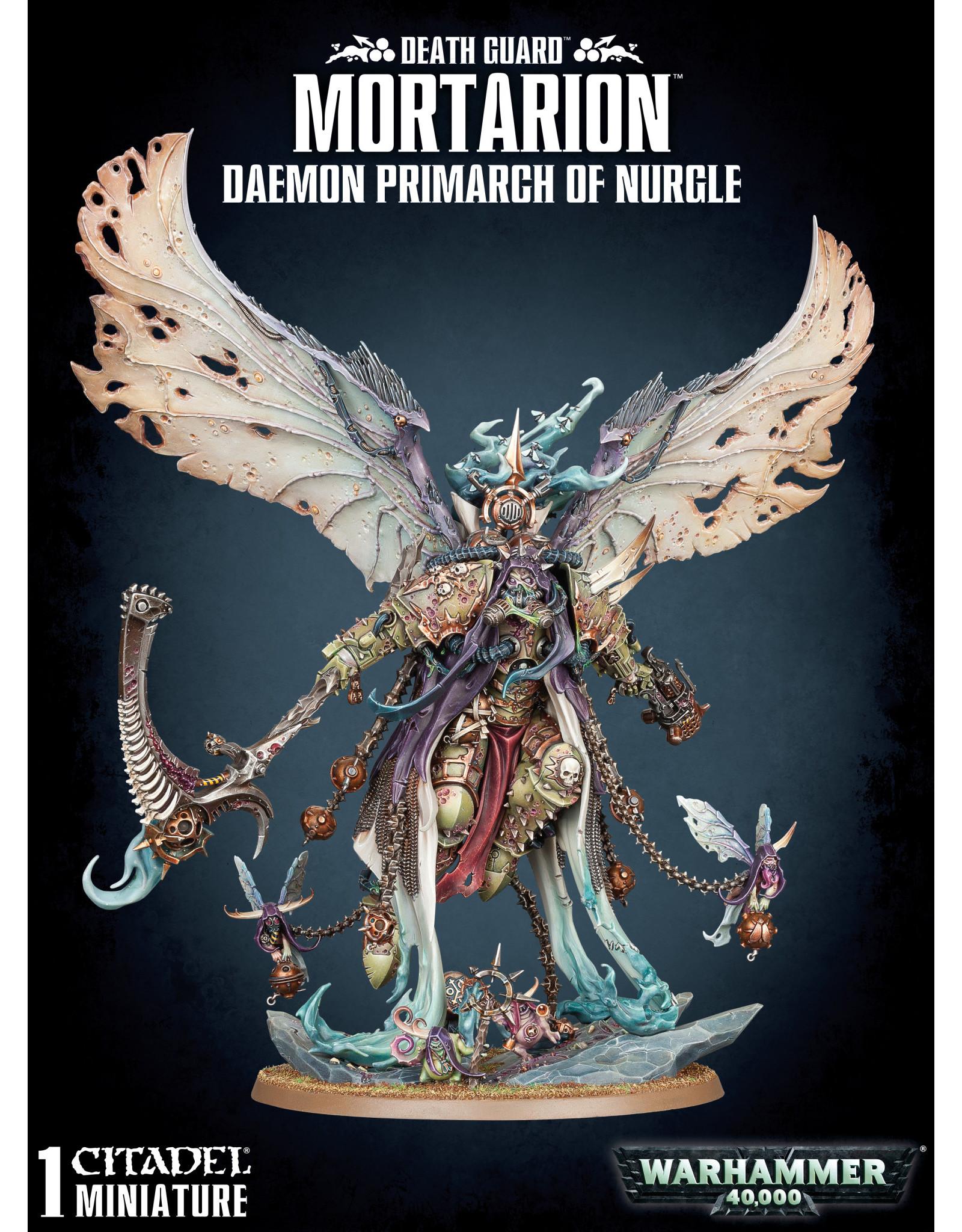 Games-Workshop Mortarian: Daemon Primarch of Nurgle