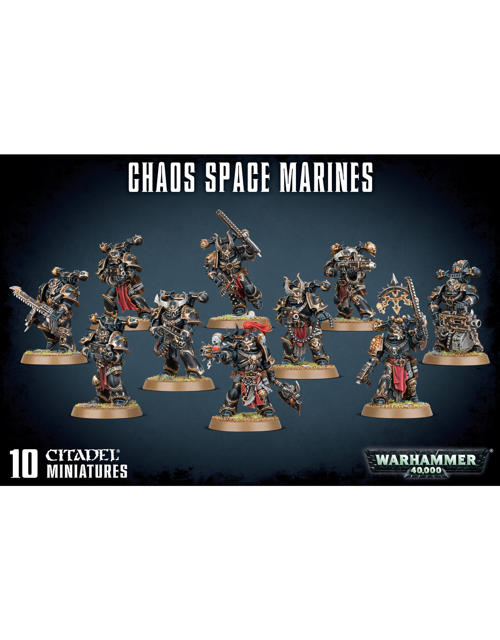 Games-Workshop CHAOS SPACE MARINES SQUAD
