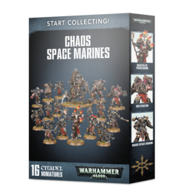 Games-Workshop START COLLECTING! CHAOS SPACE MARINES