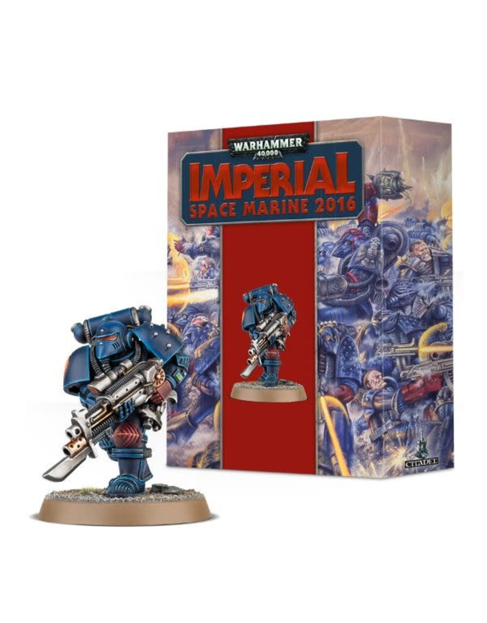 Games-Workshop Warhammer40k Imperial space marine 2016