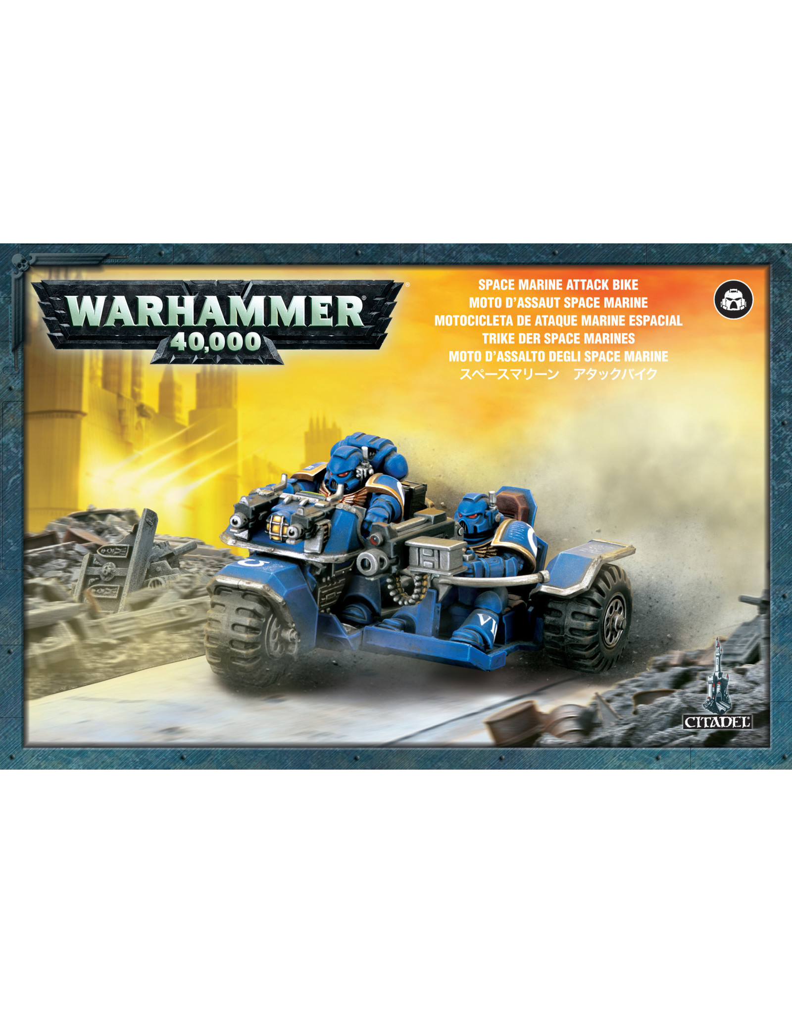 Games-Workshop SPACE MARINE ATTACK BIKE