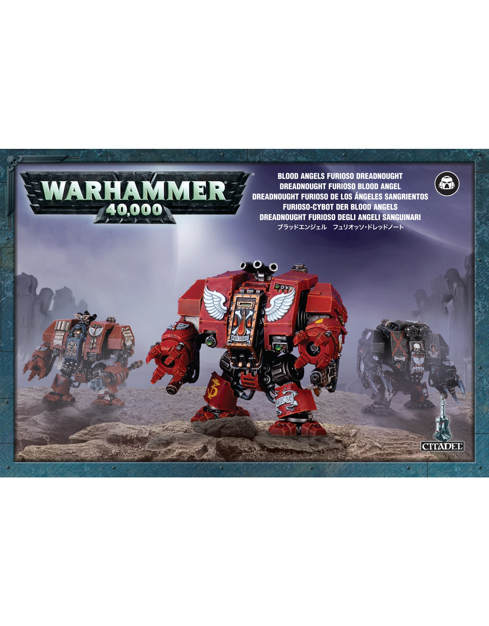 Games-Workshop BLOOD ANGELS FURIOSO DREADNOUGHT
