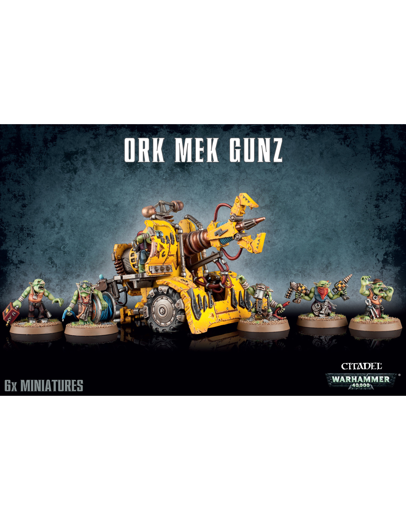 Games-Workshop ORK MEK GUN
