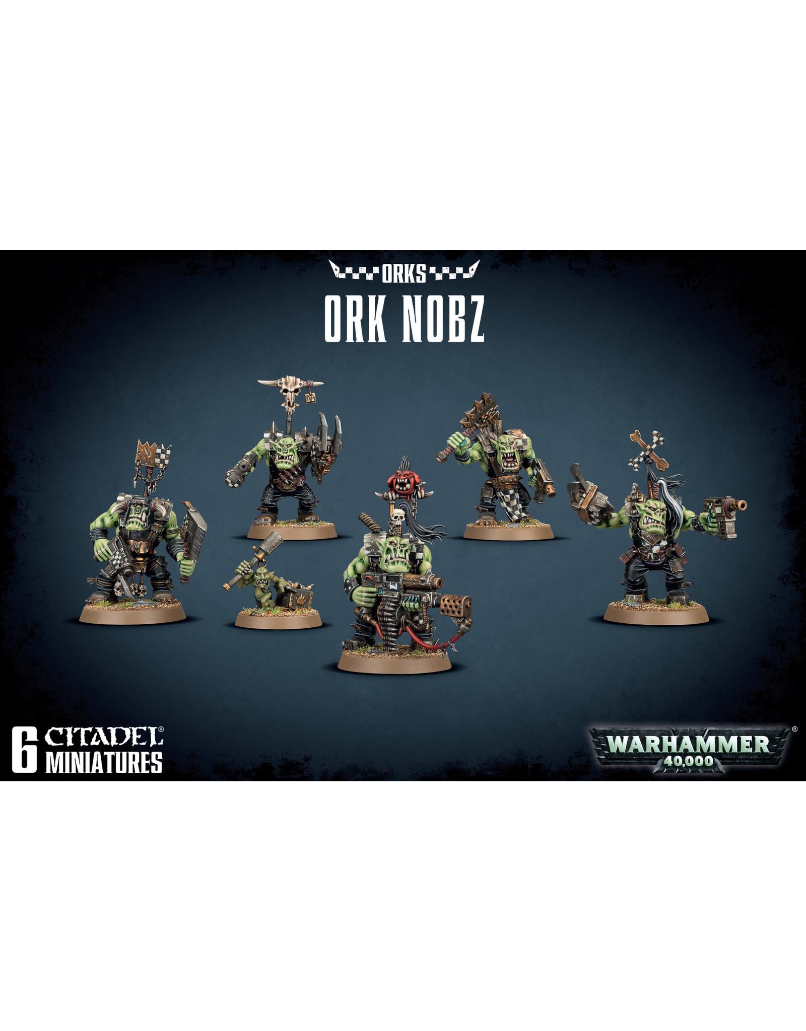 Games-Workshop ORK NOBZ