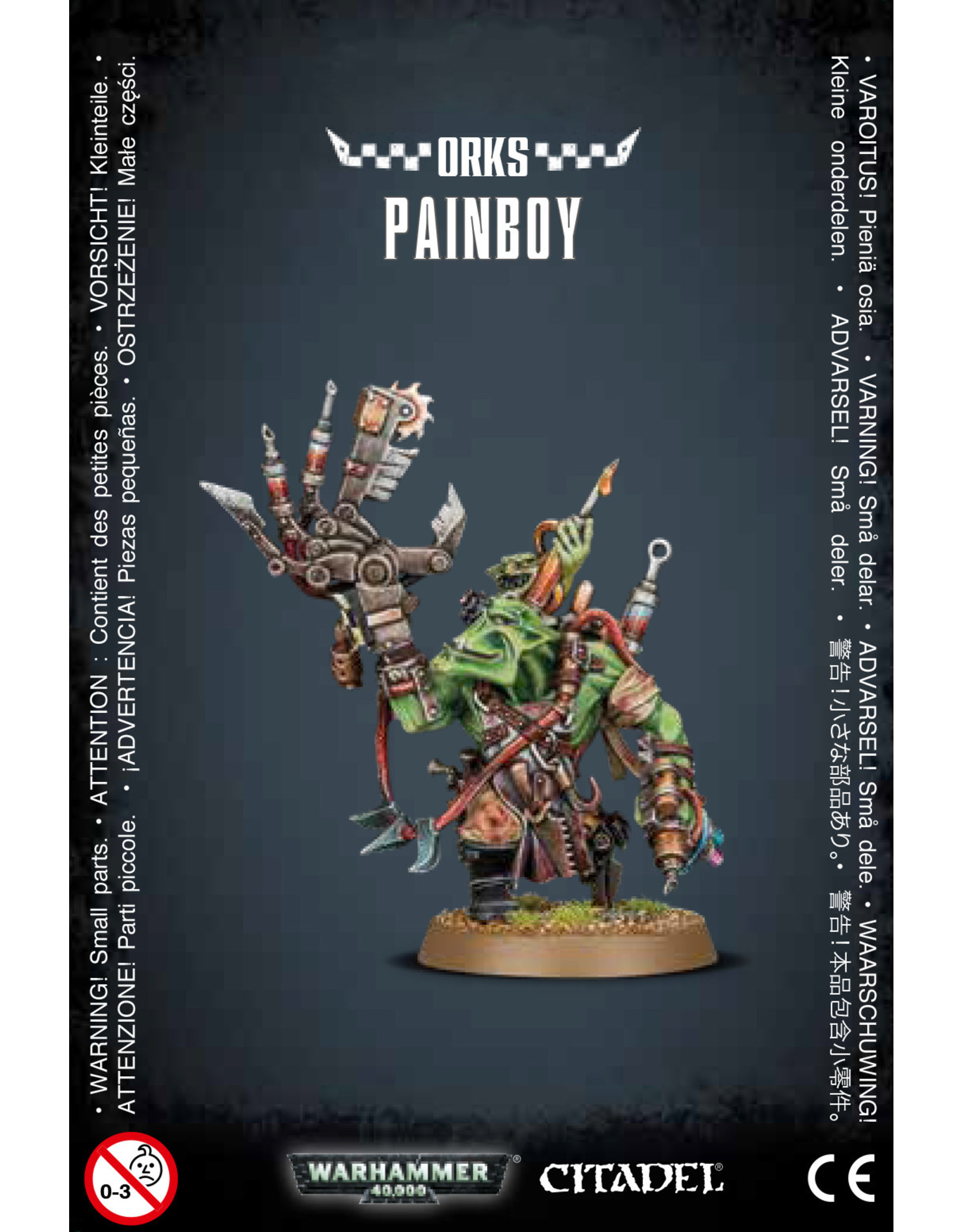 Games-Workshop ORK PAINBOY