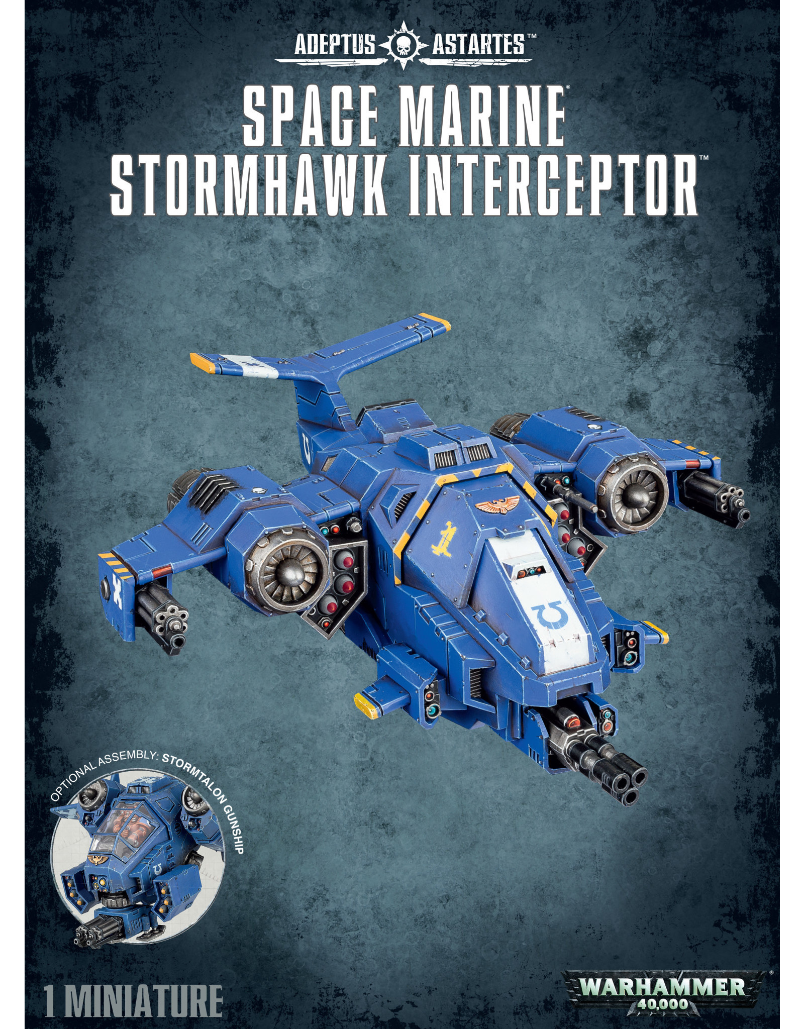 Games-Workshop SPACE MARINE STORMHAWK INTERCEPTOR