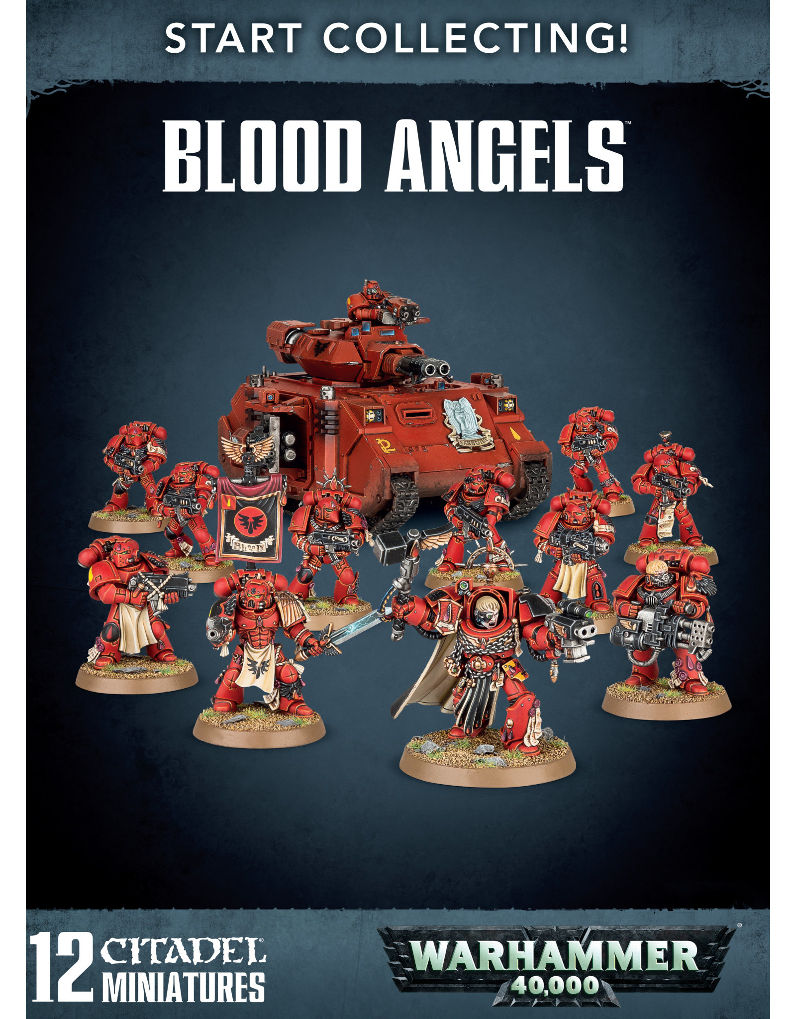 Games-Workshop START COLLECTING! BLOOD ANGELS