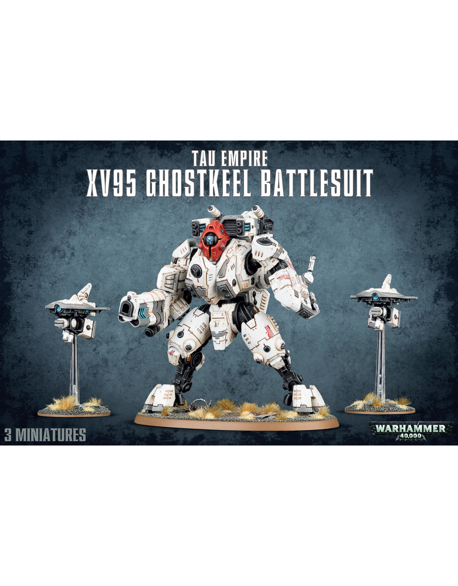 Games-Workshop TAU EMPIRE XV95 GHOSTKEEL BATTLESUIT