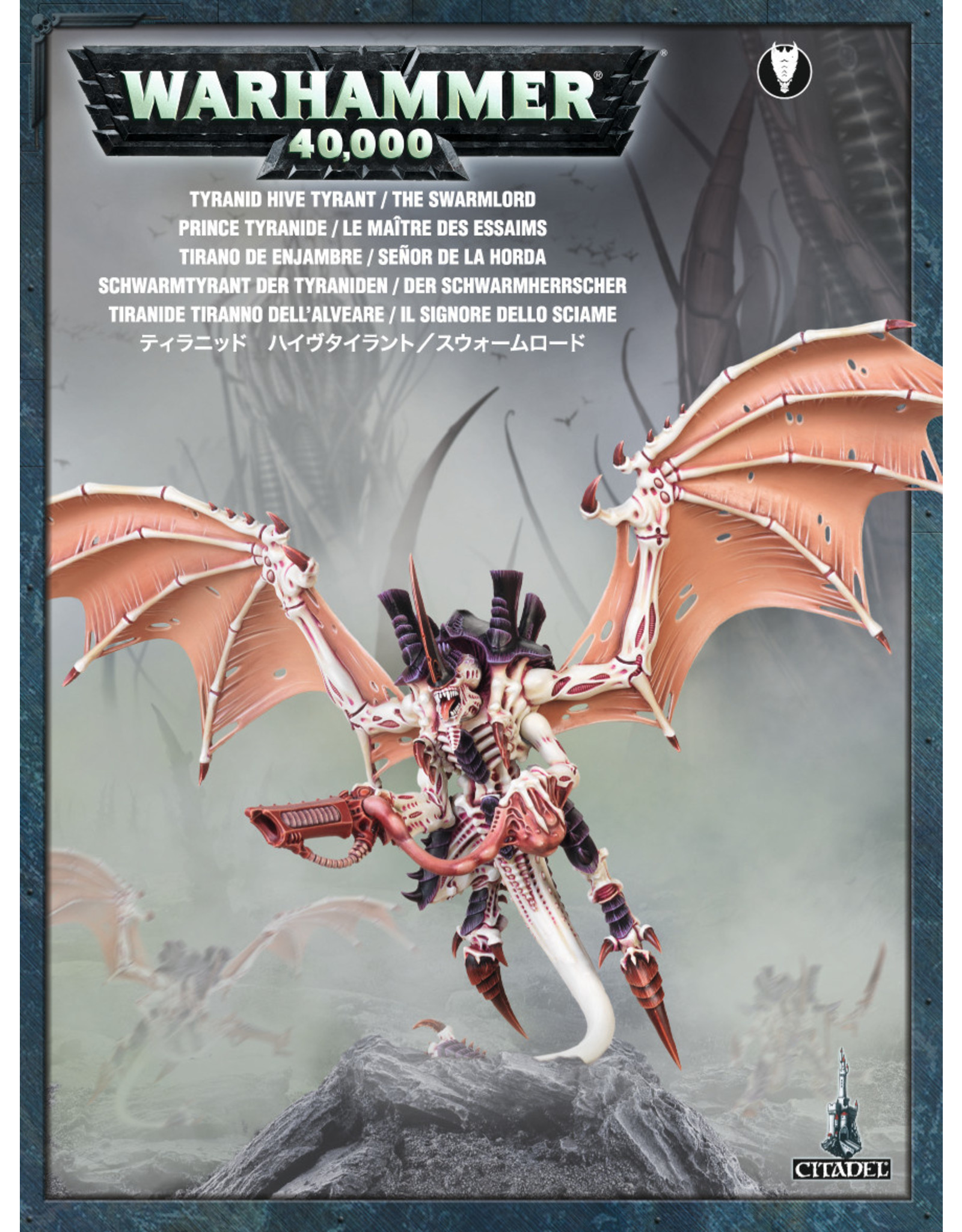 Games-Workshop TYRANID HIVE TYRANT / THE SWARMLORD