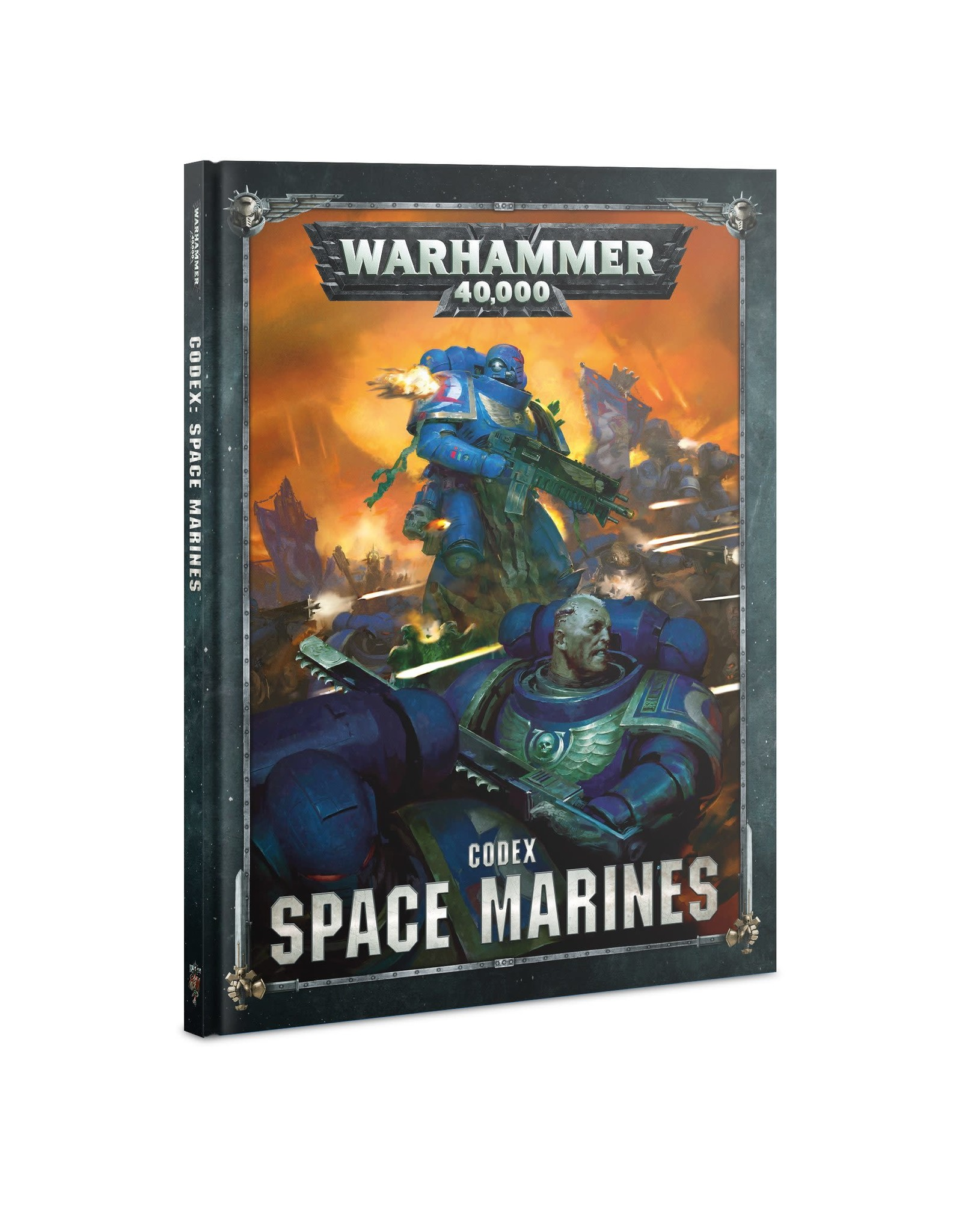 Games-Workshop CODEX: SPACE MARINES (8th Edition) (HB)(English)