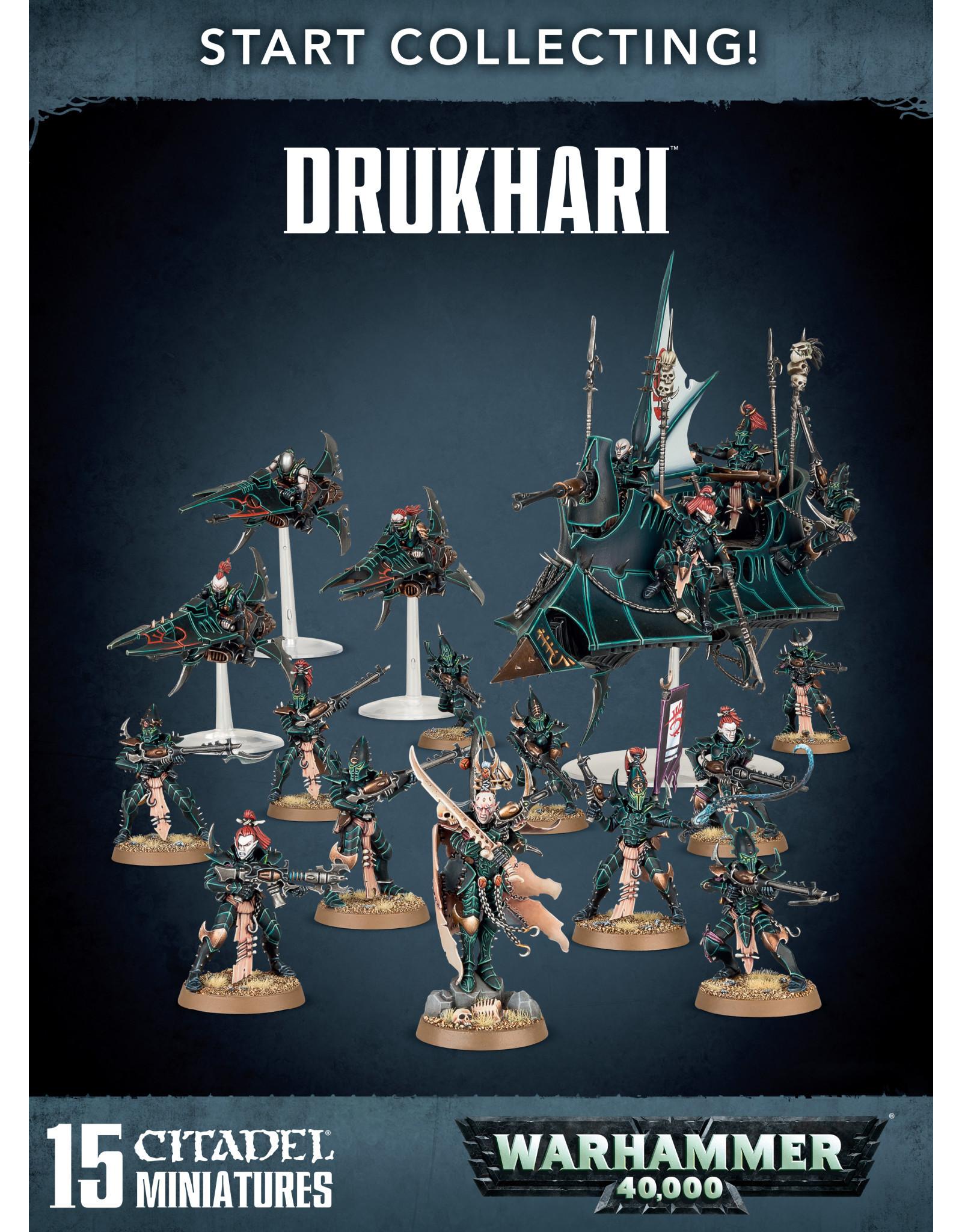 Games-Workshop START COLLECTING! DRUKHARI (New)