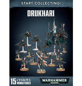 Games-Workshop START COLLECTING! DRUKHARI (New)