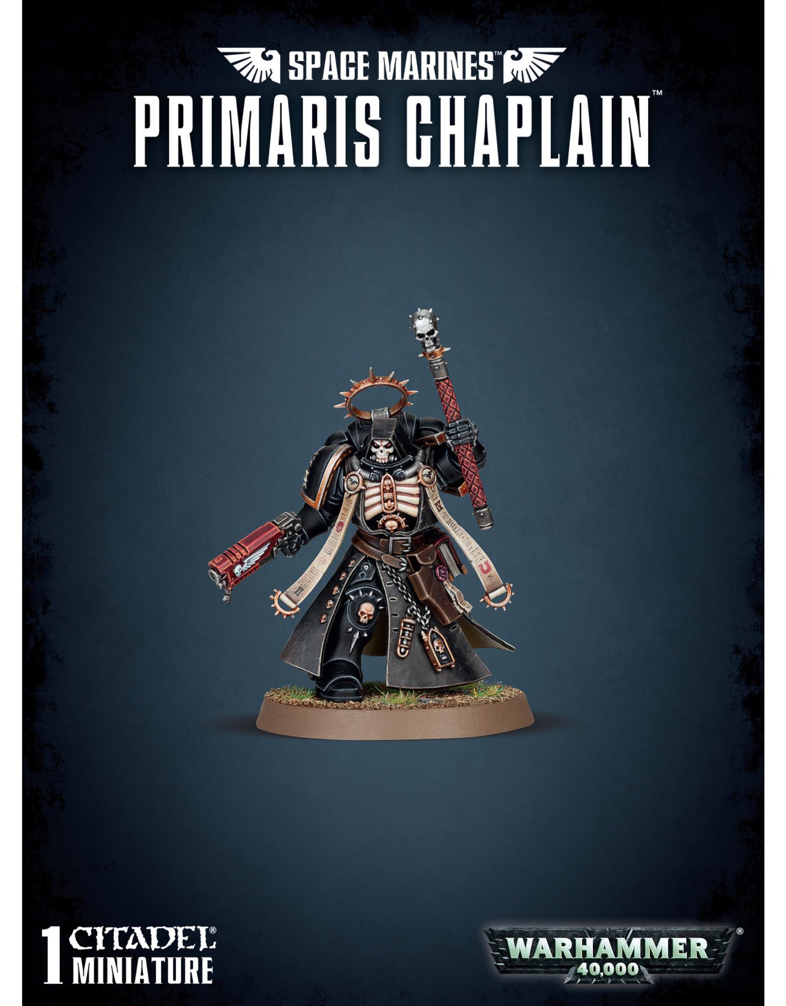 Games-Workshop Space Marine Primaris Chaplain