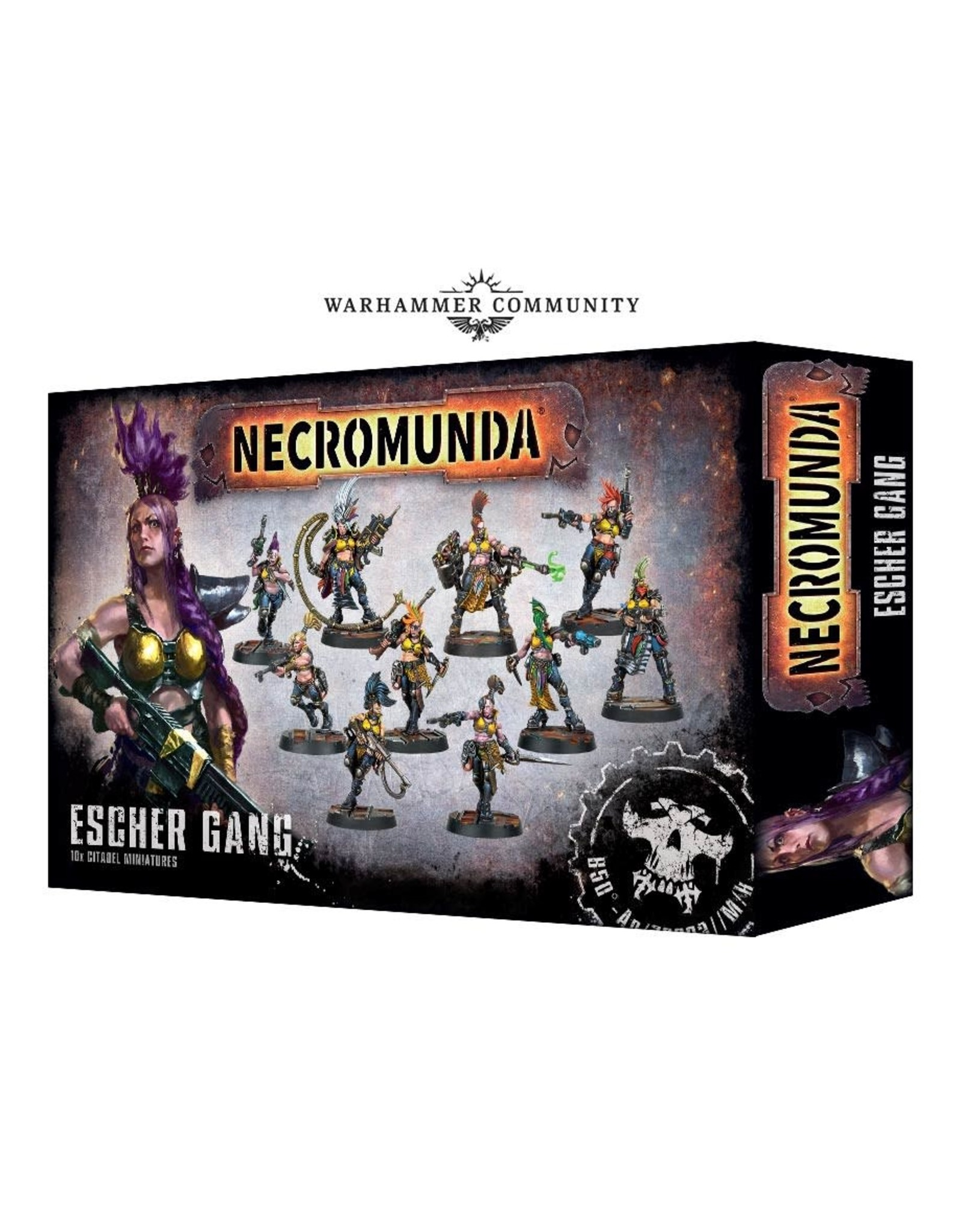 Games-Workshop NECROMUNDA : ESCHER GANG