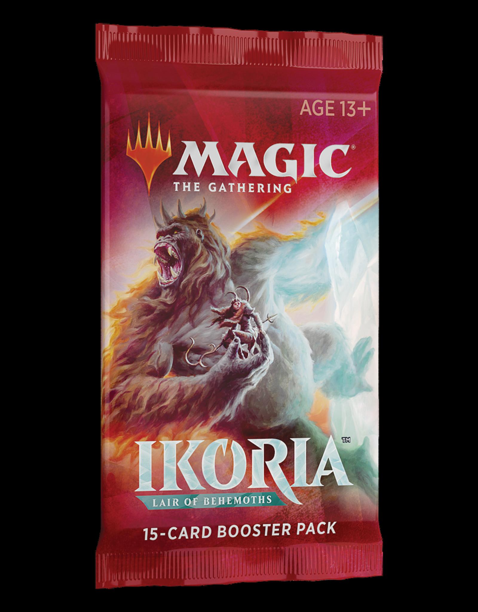 Wizards of the Coast MTG Ikoria: Lair of Behemoths Draft Booster