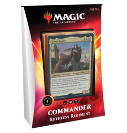 Wizards of the Coast MTG Commander 2020: Ruthless Regiment