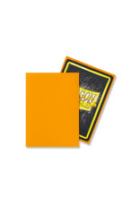 DRAGON SHIELD SLEEVES: MATTE Orange (BOX OF 100)