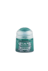 Games-Workshop Citadel paint TECHNICAL: WAYSTONE GREEN (12ML)
