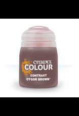 Games-Workshop Citadel Paints CONTRAST: CYGOR BROWN (18ML)