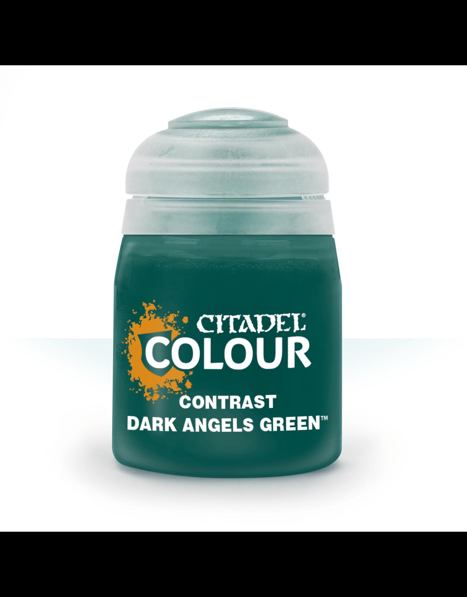 Games-Workshop Citadel Paints CONTRAST: DARK ANGELS GREEN (18ML)