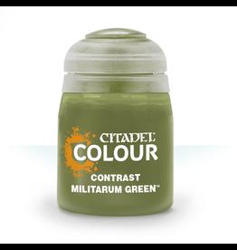 Games-Workshop Citadel Paints CONTRAST: MILITARUM GREEN (18ML)