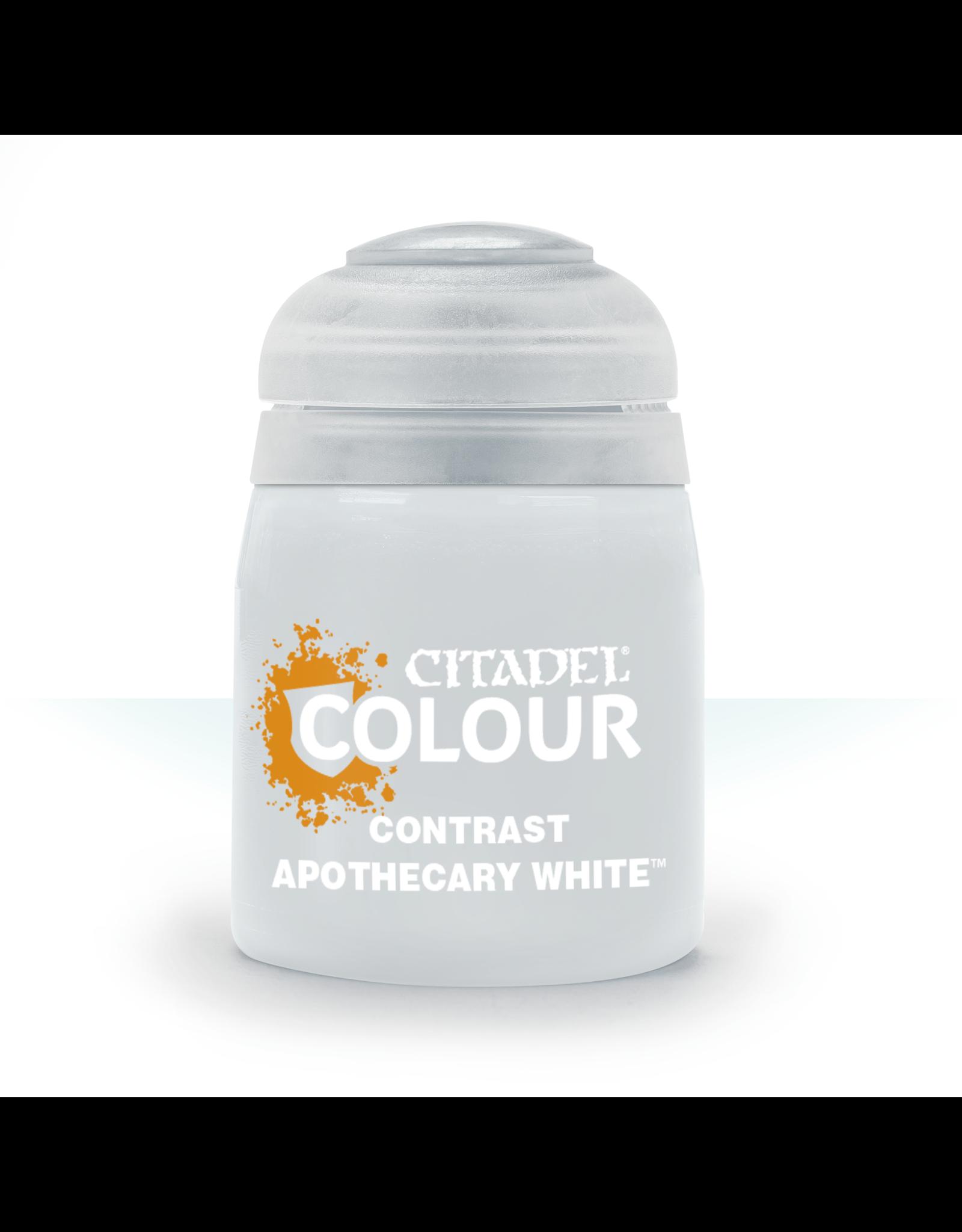 Games-Workshop Citadel Paints CONTRAST: APOTHECARY WHITE (18ML)