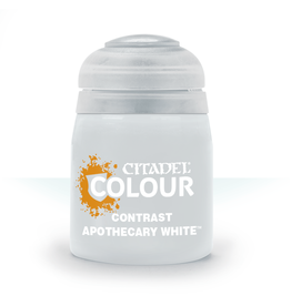 Games-Workshop Citadel Paints CONTRAST: APOTHECARY WHITE (18ML)