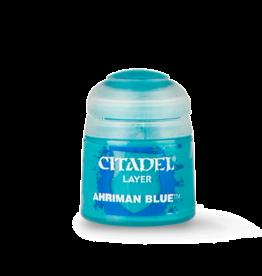 Games-Workshop Citadel paint LAYER: AHRIMAN BLUE (12ML)