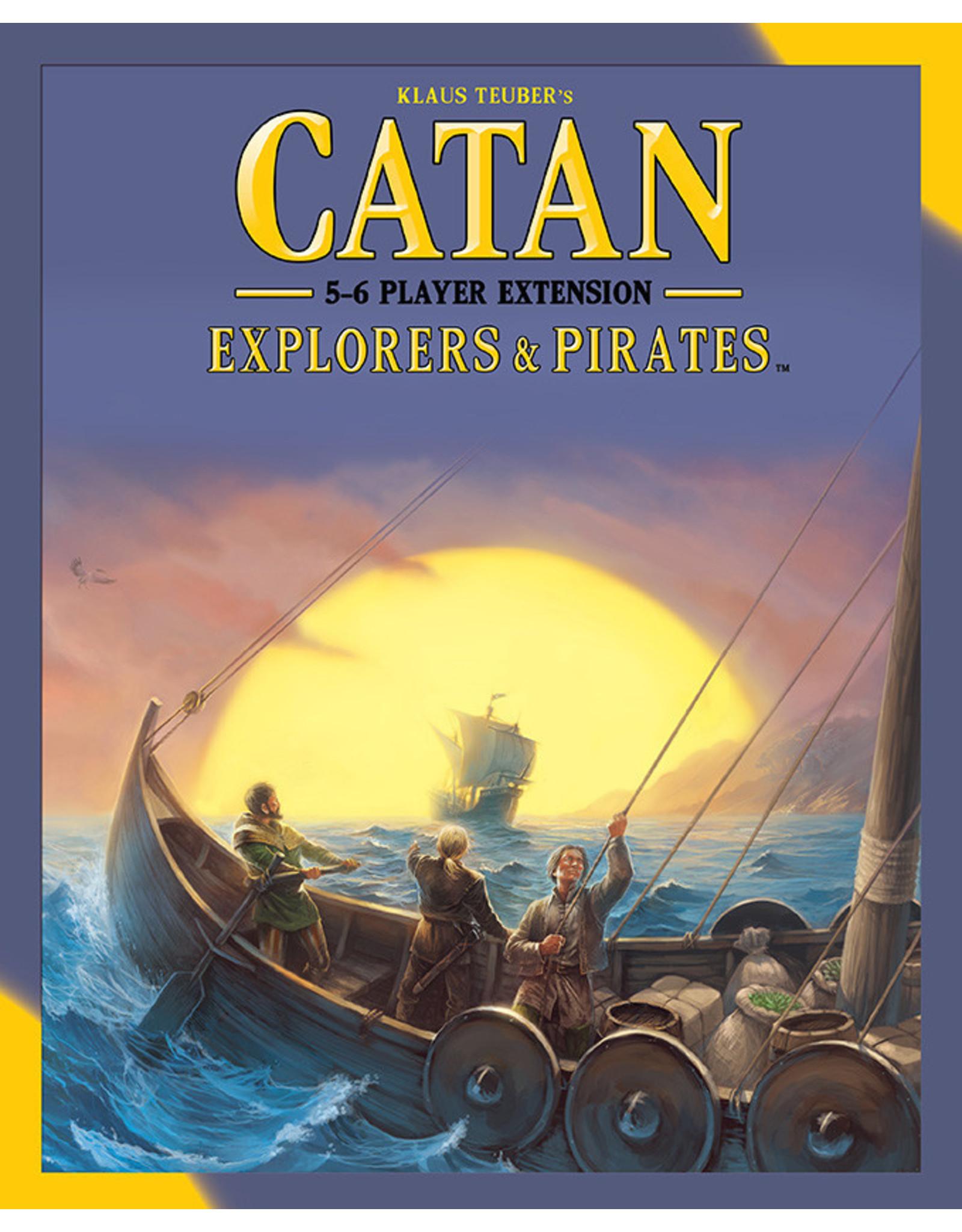 Catan: Explorers & Pirates 5-6 Player Extension