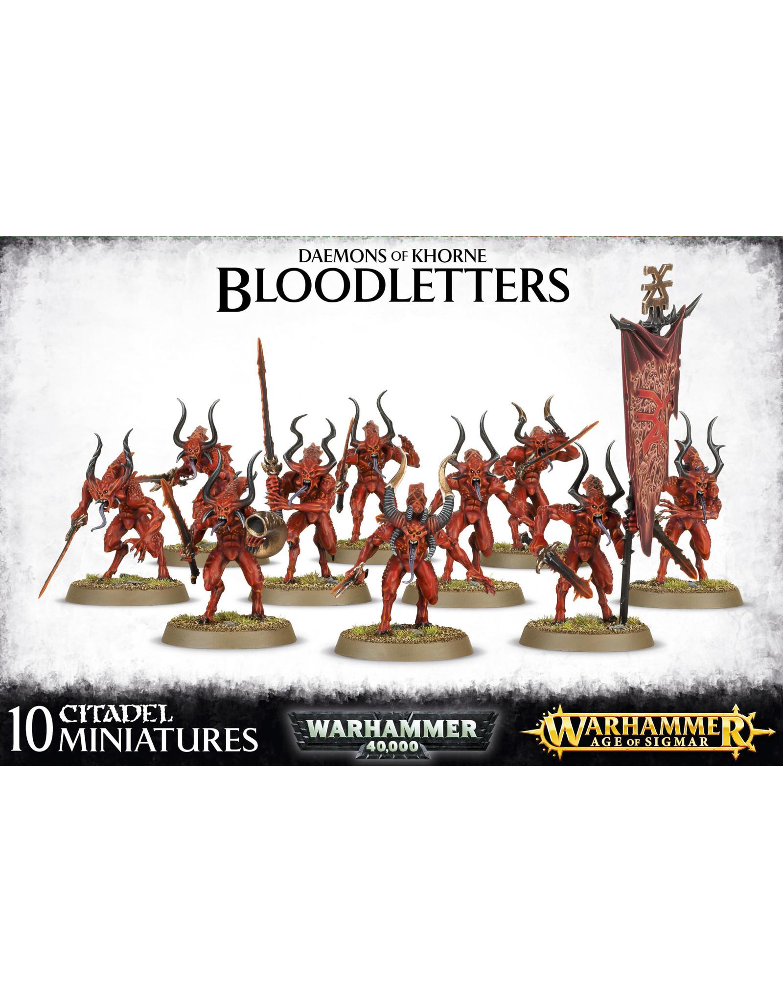 Games-Workshop Daemons Of Khorne Bloodletters