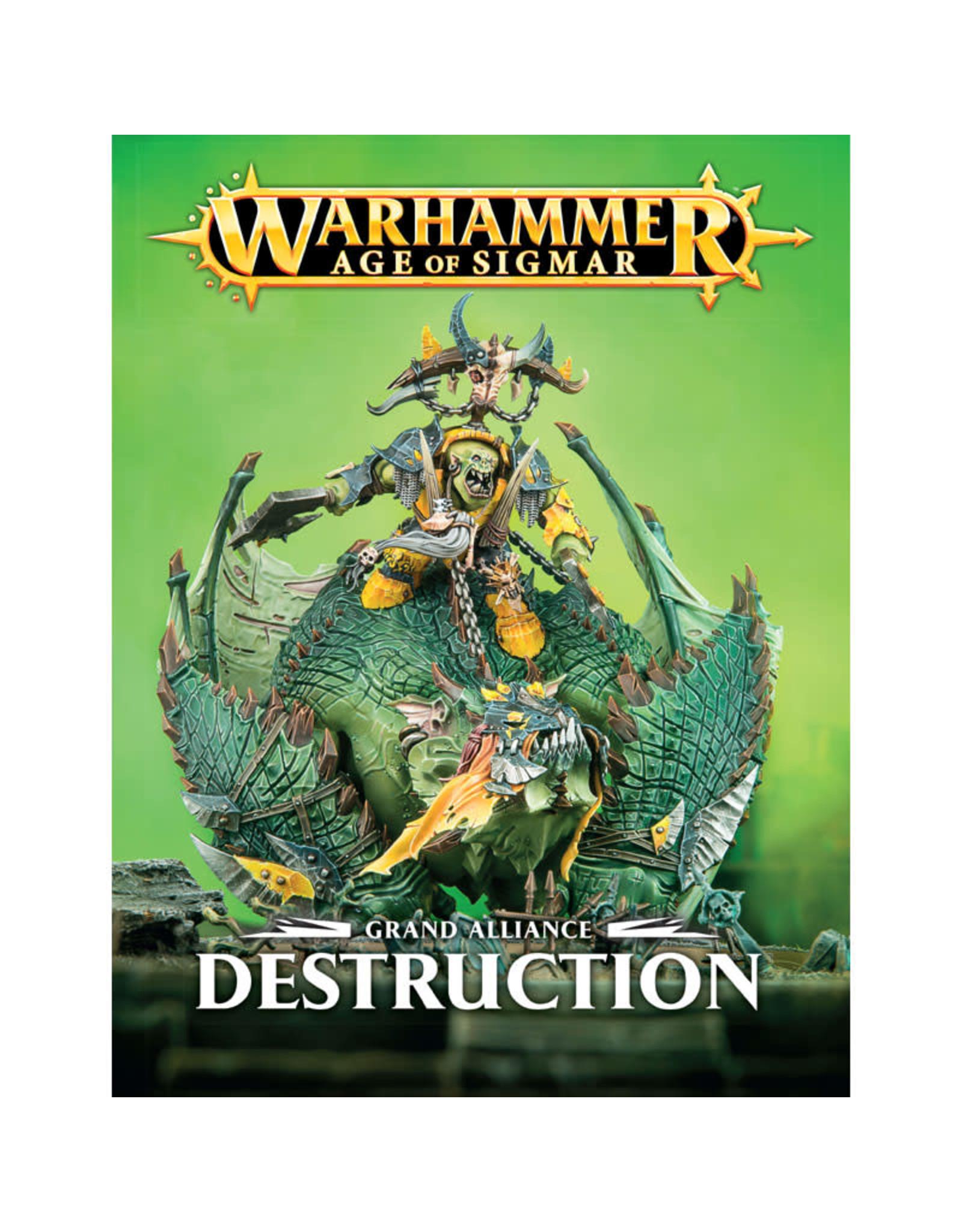 Games-Workshop GRAND ALLIANCE: DESTRUCTION (ENGLISH)