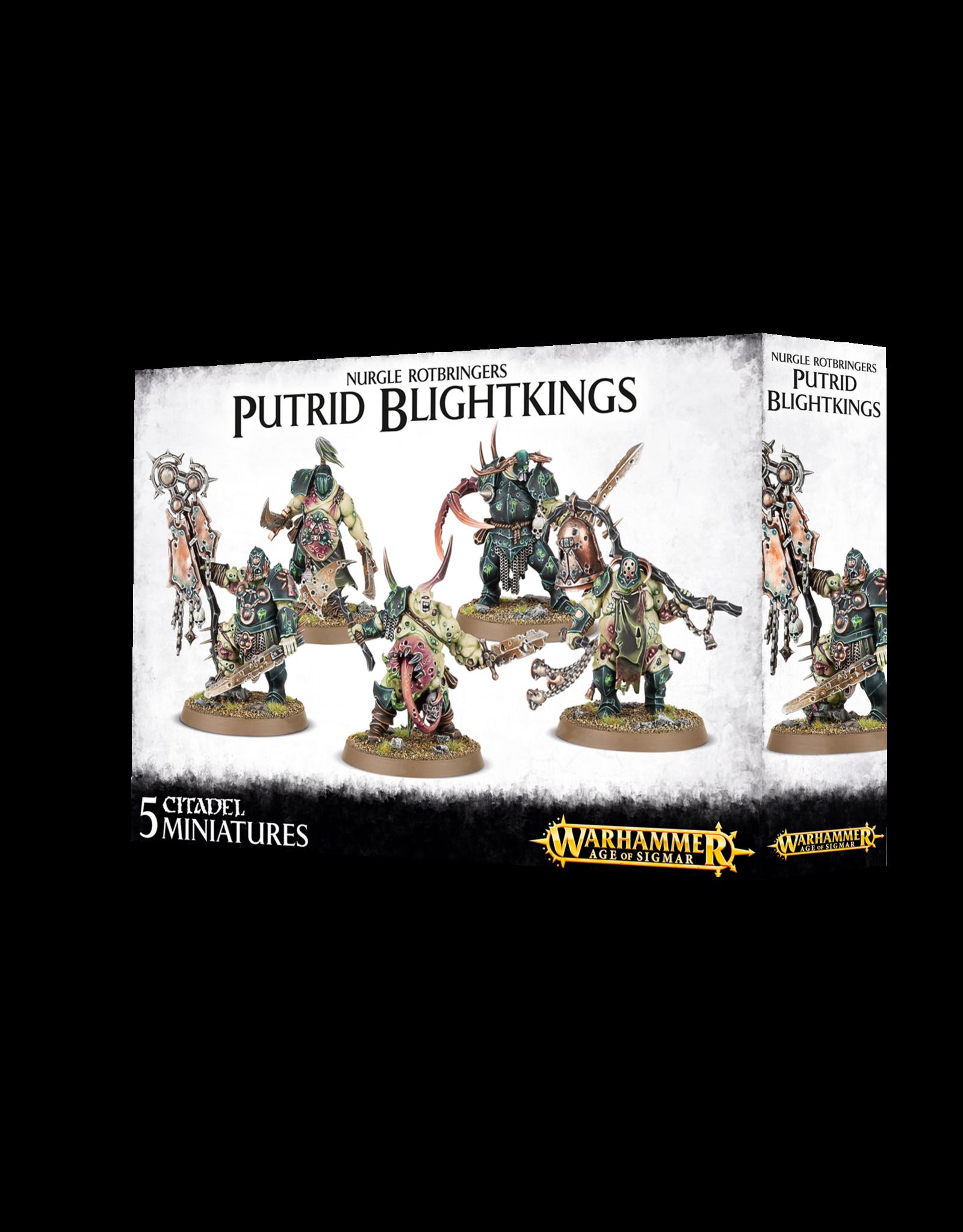 Games-Workshop NURGLE ROTBRINGERS PUTRID BLIGHTKINGS
