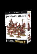 Games-Workshop START COLLECTING! DAEMONS OF KHORNE