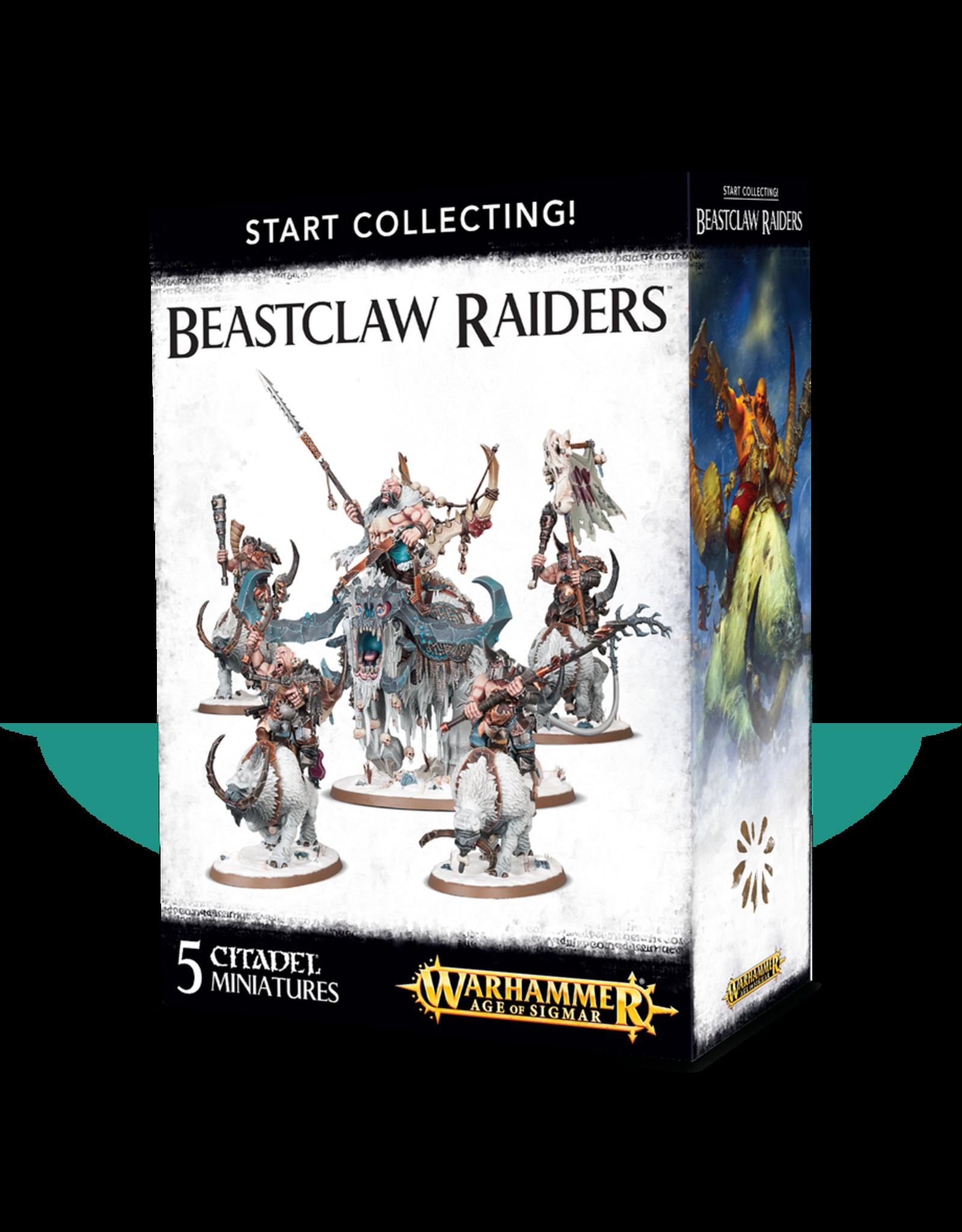 Games-Workshop Start Collecting! Beastclaw Raiders