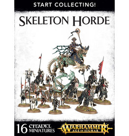 Games-Workshop START COLLECTING! SKELETON HORDE
