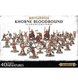 Games-Workshop Battleforce: Khorne Bloodbound Slaughterstorm