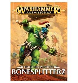 Games-Workshop Warscroll CARDS: Bonesplitters (English)