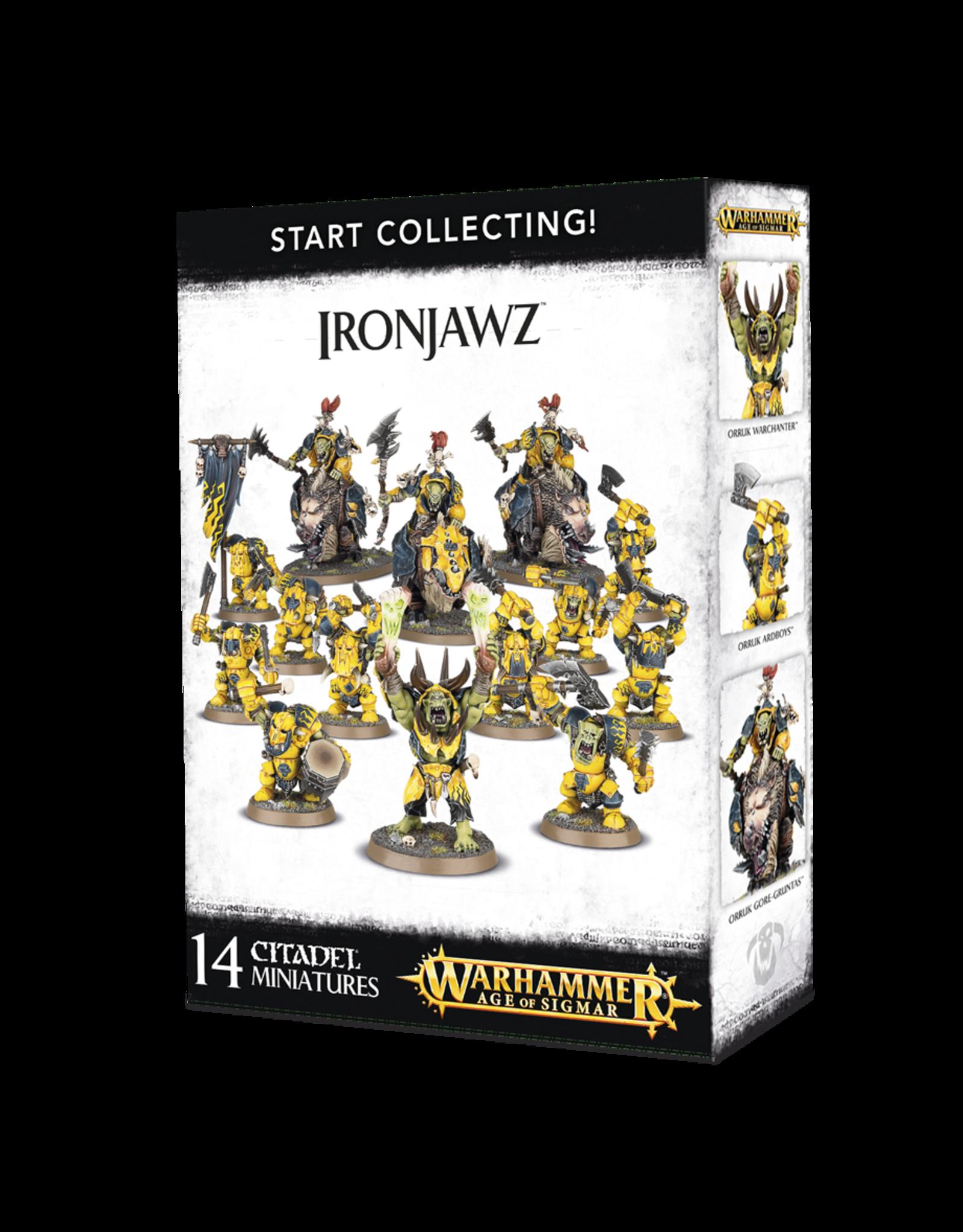 Games-Workshop START COLLECTING! IRONJAWZ