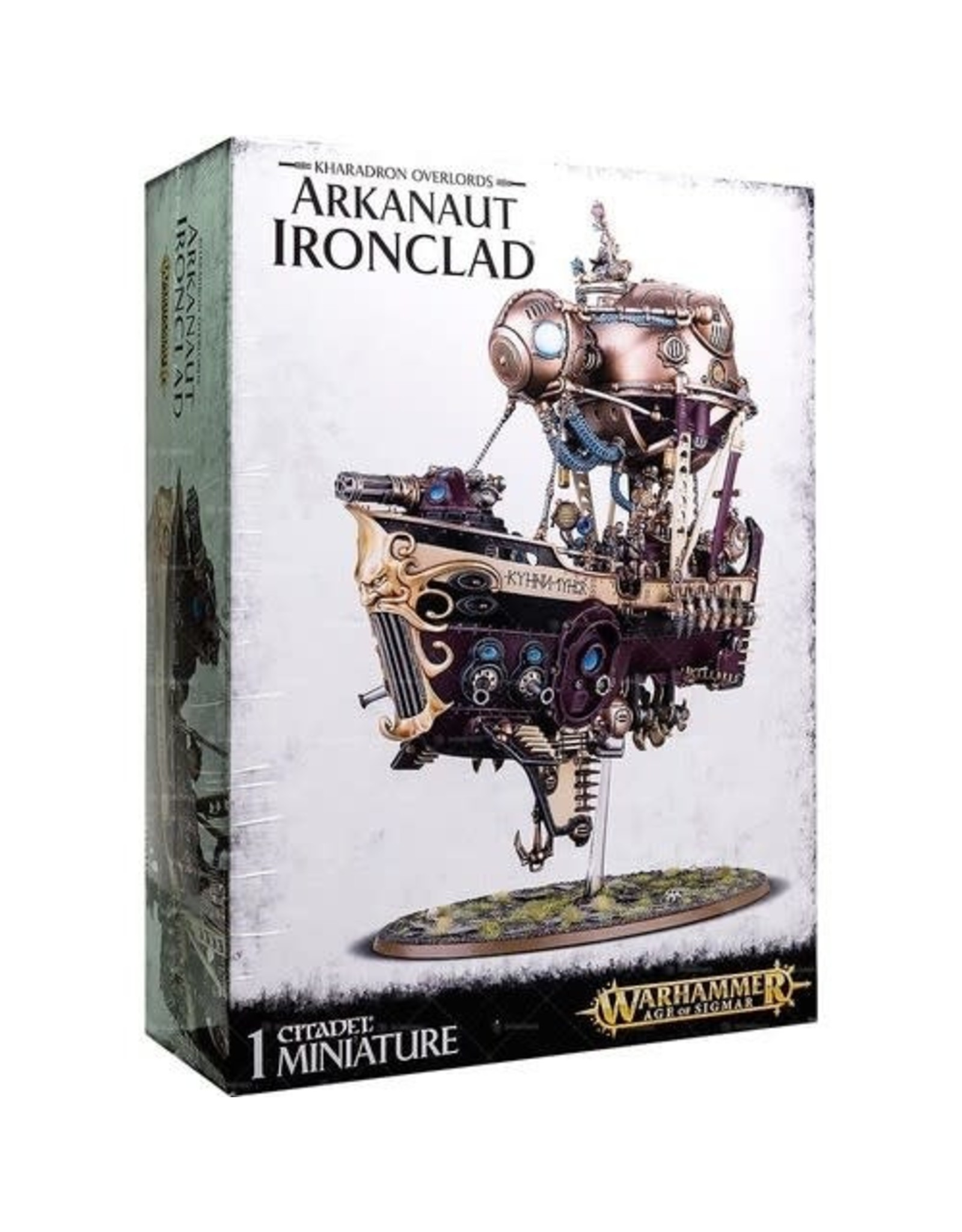 Games-Workshop KHARADRON OVERLORDS ARKANAUT IRONCLAD