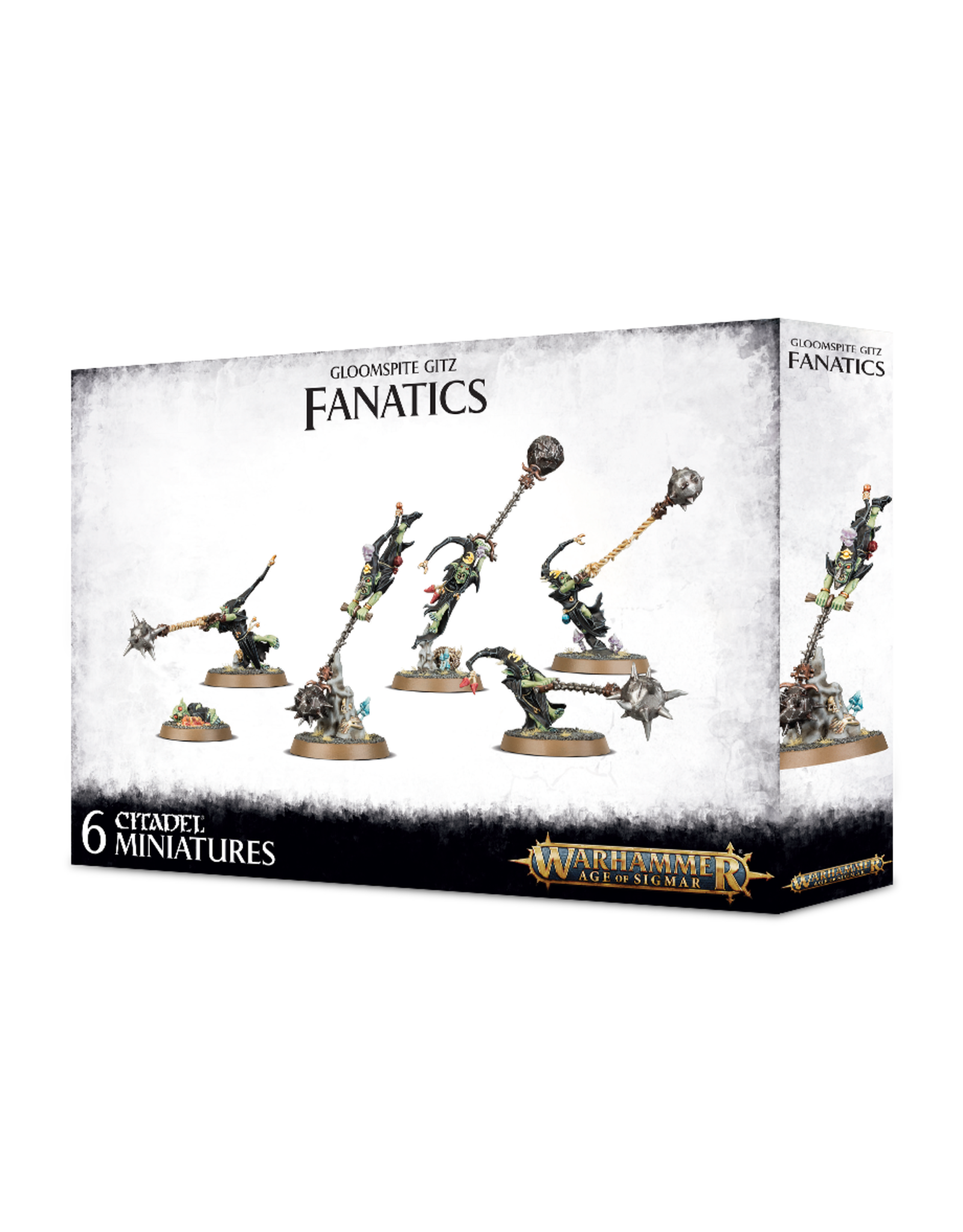 Games-Workshop GLOOMSPITE GITZ: FANATICS