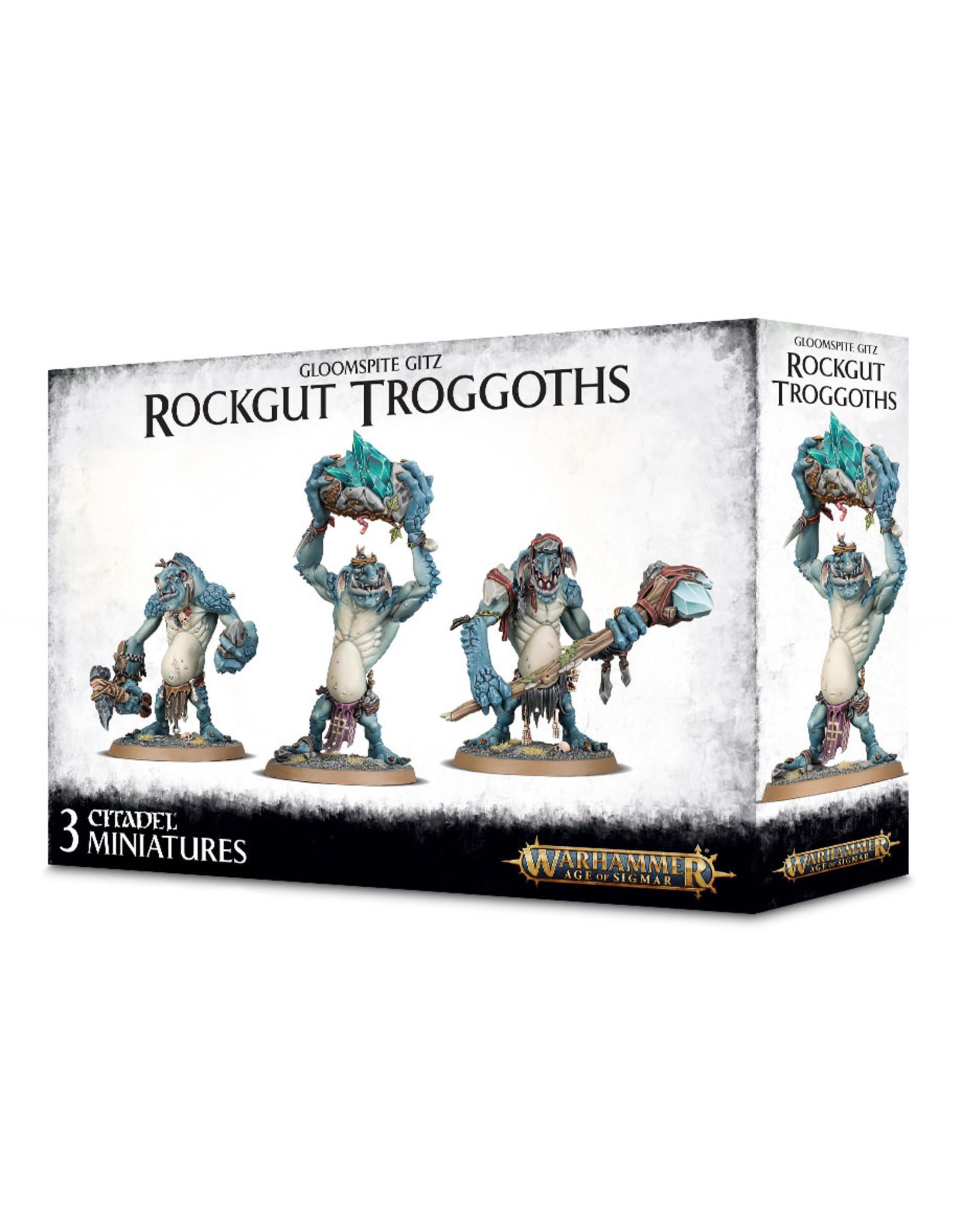 Games-Workshop GLOOMSPITE GITZ ROCKGUT TROGGOTHS