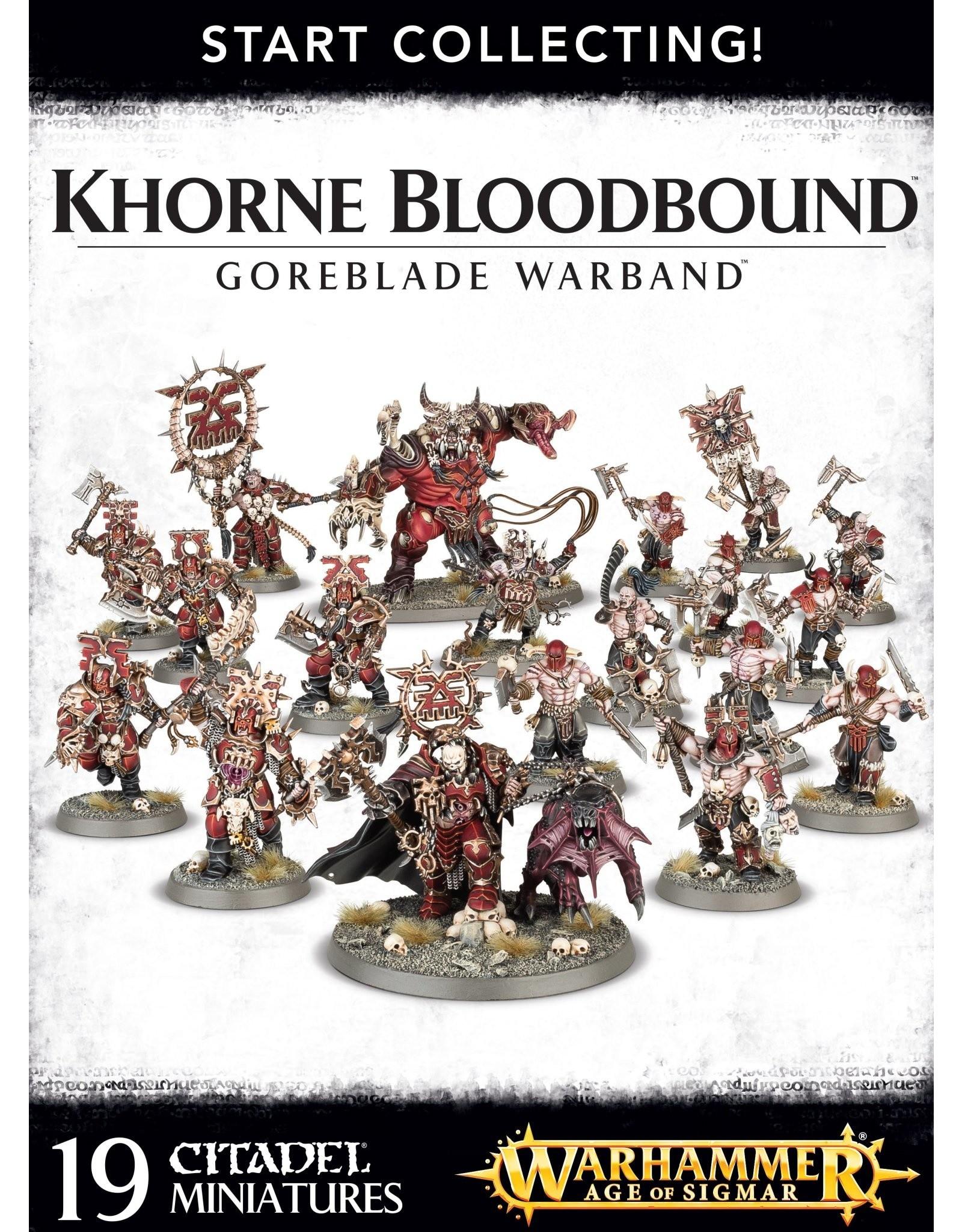 Games-Workshop START COLLECTING ! GOREBLADE WARBAND