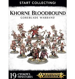 Games-Workshop START COLLECTING ! GOREBLADE WARBAND