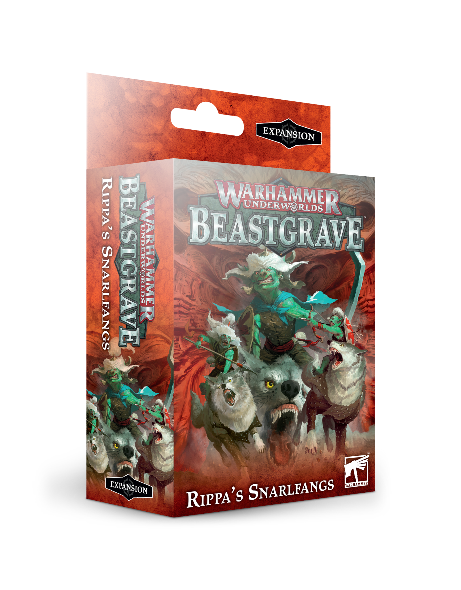 Games-Workshop WH UNDERWORLDS: RIPPA'S SNARLFANGS (ENG)