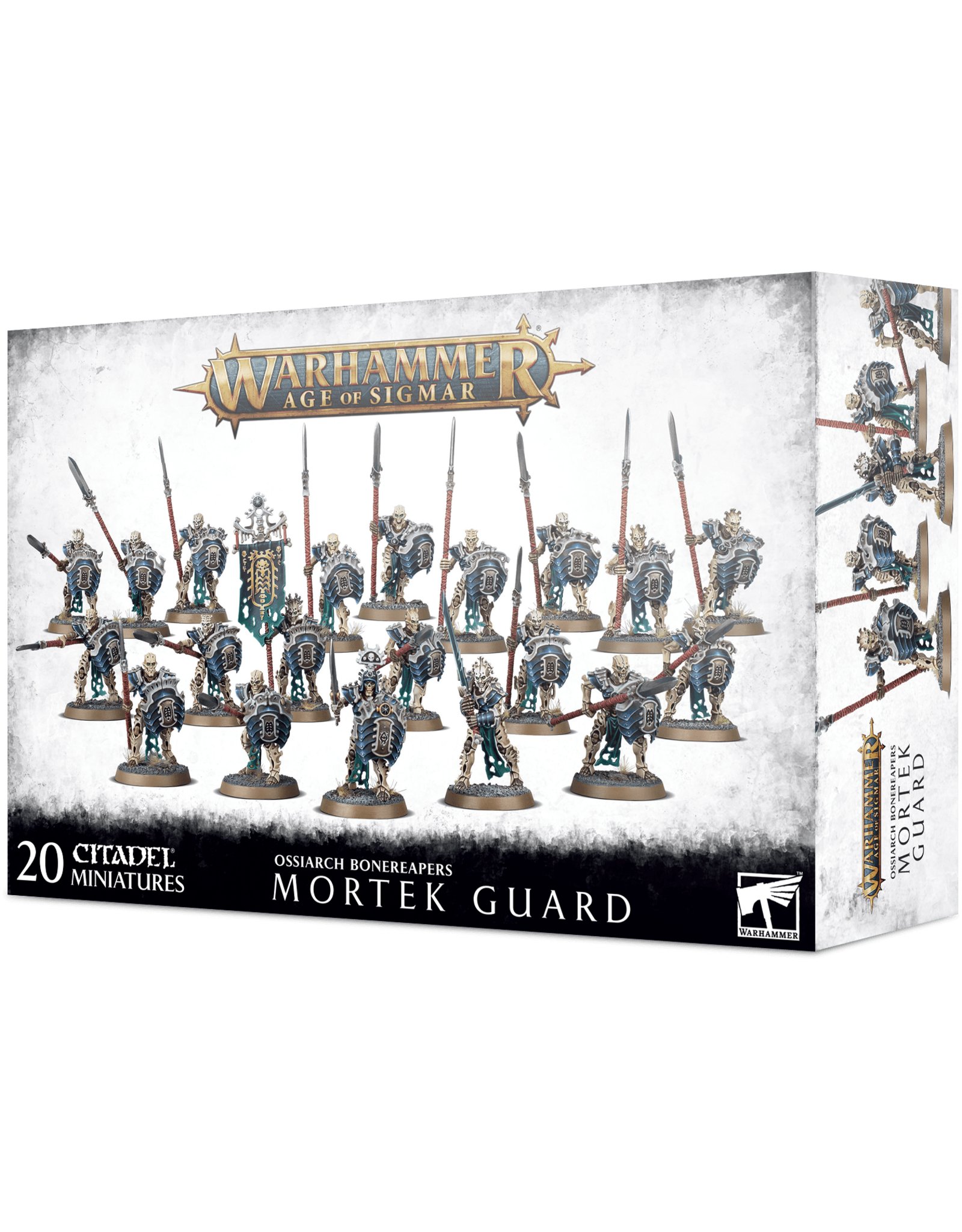Games-Workshop Ossiarch Bonereapers Mortek Guard